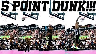 5 POINT DUNK!!! QUAI 54 DUNK CONTEST RECAP!!!