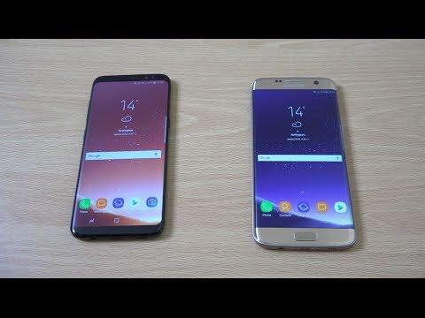 Samsung Galaxy S8 vs S7 Edge (S8 Rom Port) - Speed Test!