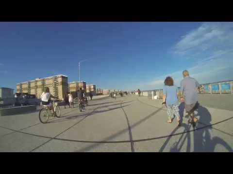 Rockaway Boardwalk End To End Time Lapse
