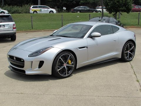 2015 Jaguar F-Type R Coupe Start Up, Exhaust, Test Drive, and In Depth Review