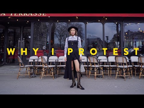 Dior, Why I Protest, Paris Fashion Week Day 1&2  Aimee Song