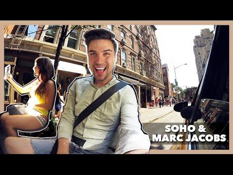 SOHO & MARC JACOBS 💸 - NEW YORK DAG 5   Vlogg