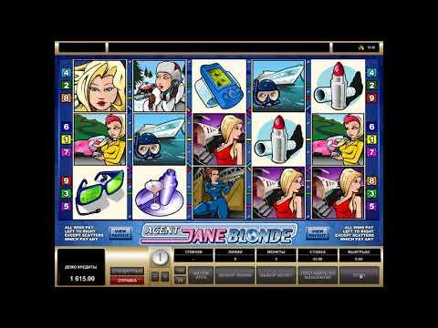Игровой автомат Agent Jane Blonde играть бесплатно и без регистрации онлайн