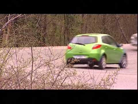 Наши тесты - Mazda 2 в России (2008)