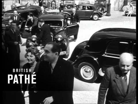 Selected Originals - World Without War - Geneva Conference, Peace Signing & Mr France Returns (1954)