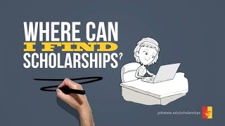 """APPLY FOR SCHOLARSHIPS - """"Fast. Easy. Worth it"""""""