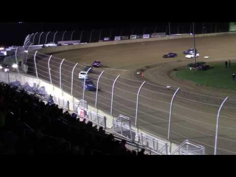 Lawrenceburg Speedway 4-1-17 Hornet Heat Race #2