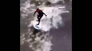 River Surfing Iowa