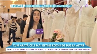 Cum arată cele mai ieftine rochii de mireasă