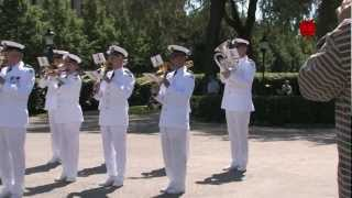 Marinens Musikkår på Kungsträdgården - The Royal Swedish Navy Band