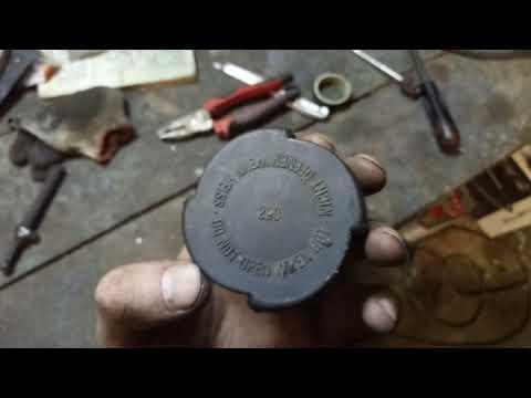 Как проверить пробку радиатора БМВ BMW e34 36 39 38 x5