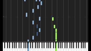 Lady Gaga - Bad Romance Piano Tutorial - MIDI + Sheets!