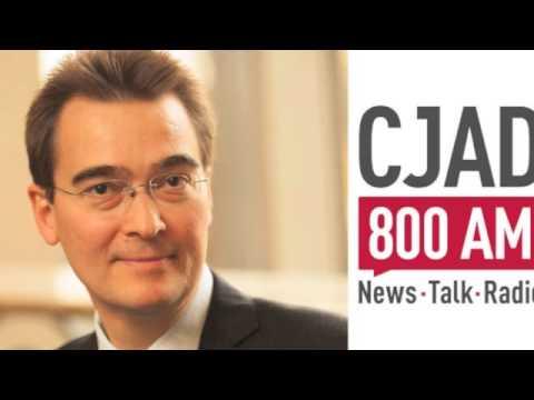 Dr Kevin Glasgow Interview - CJAD 800 AM Radio, Montreal