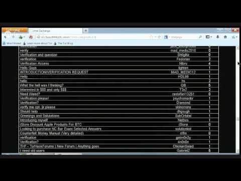 The Hidden Internet- Intel Exchange (Best Forum ever!)