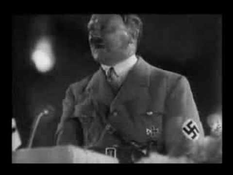 Newly Discovered Footage Of Hitler Singing