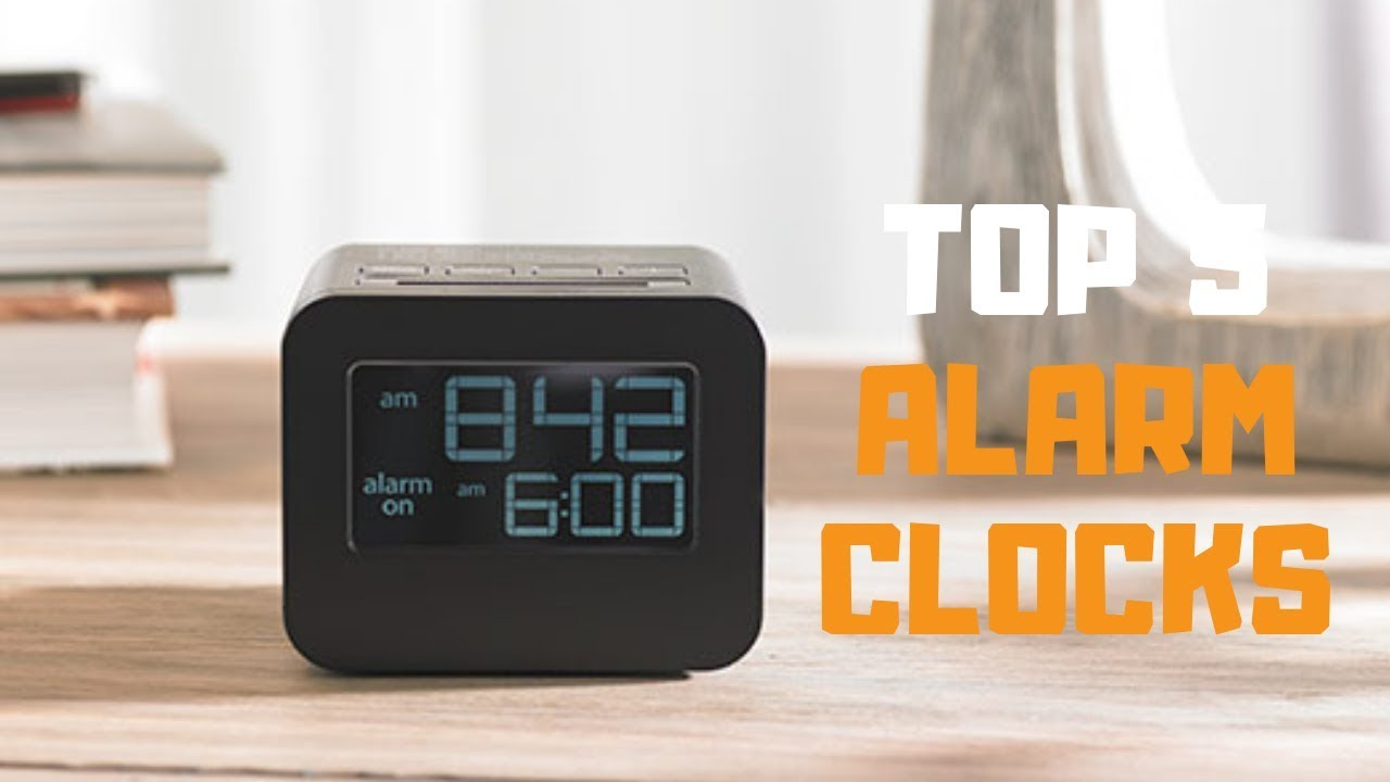 Best Alarm Clocks In 2019 Top 5 Alarm Clocks Review Youtube