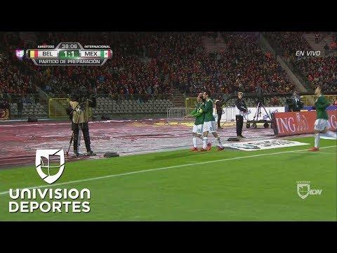 ¡GOL! Andrés Guardado | Bélgica 1-1 México |Penal sobre 'Chicharito'