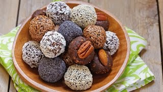 СЫРОЕДЧЕСКИЕ КОНФЕТЫ С БАНАНОМ: полезные сладости в домашних условиях