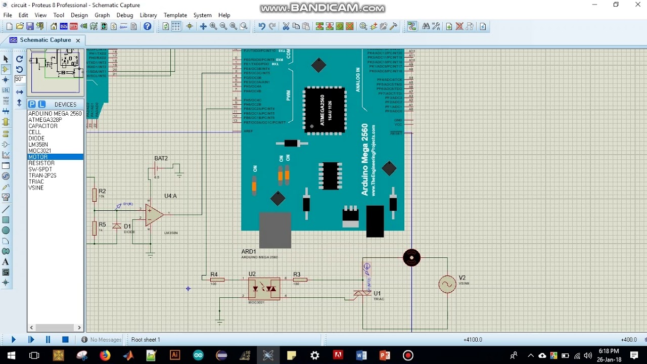 Speed Control of a single phase induction motor using Microcontroller