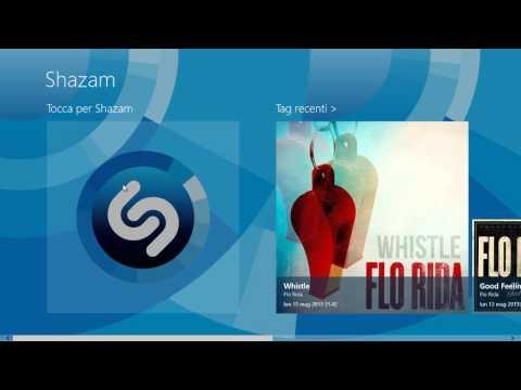 Shazam Per Windows 8: Riconoscere Titoli & Video Musicali