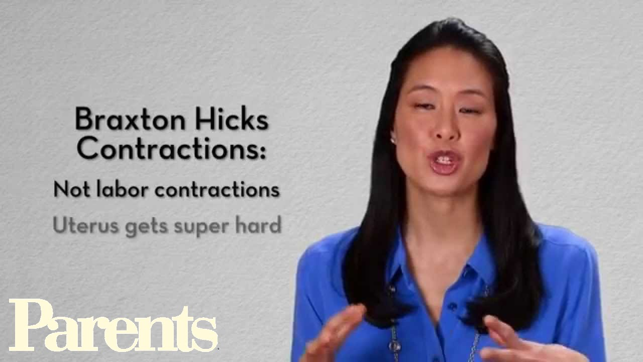 Symptoms of false labor in women