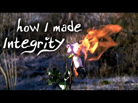 Setting roses on fire (behind the scenes to Integrity)