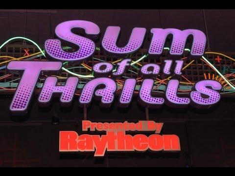 Epcot Sum Of All Thrills Robotic Arm Virtual Roller Coaster Simulator Ride Innoventions Disney