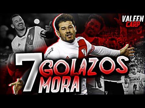 7 INCREÍBLES GOLAZOS de MORA en RIVER | 2014-2018