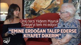 Ünlü terzi Yıldırım Mayruk, Emine Erdoğan'la yaşadığı defile krizini Odatv'ye anlattı