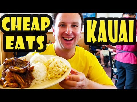 8 Best Cheap Eats Kauai Hawaii
