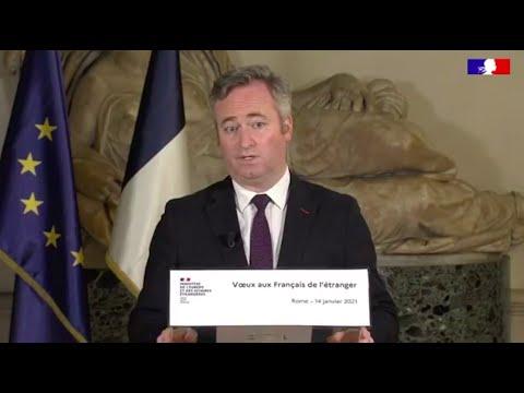 Voeux 2021 de Jean-Baptiste Lemoyne, Secrétaire d'Etat aux Français hors de France