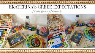 Maths Learning Materials for Early Years Education | Home Education | Ekaterina Botziou