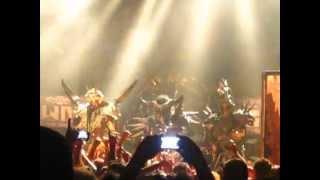 """GWAR """"Horror of Yig"""" {Romney} (Live) 11/04/2012"""
