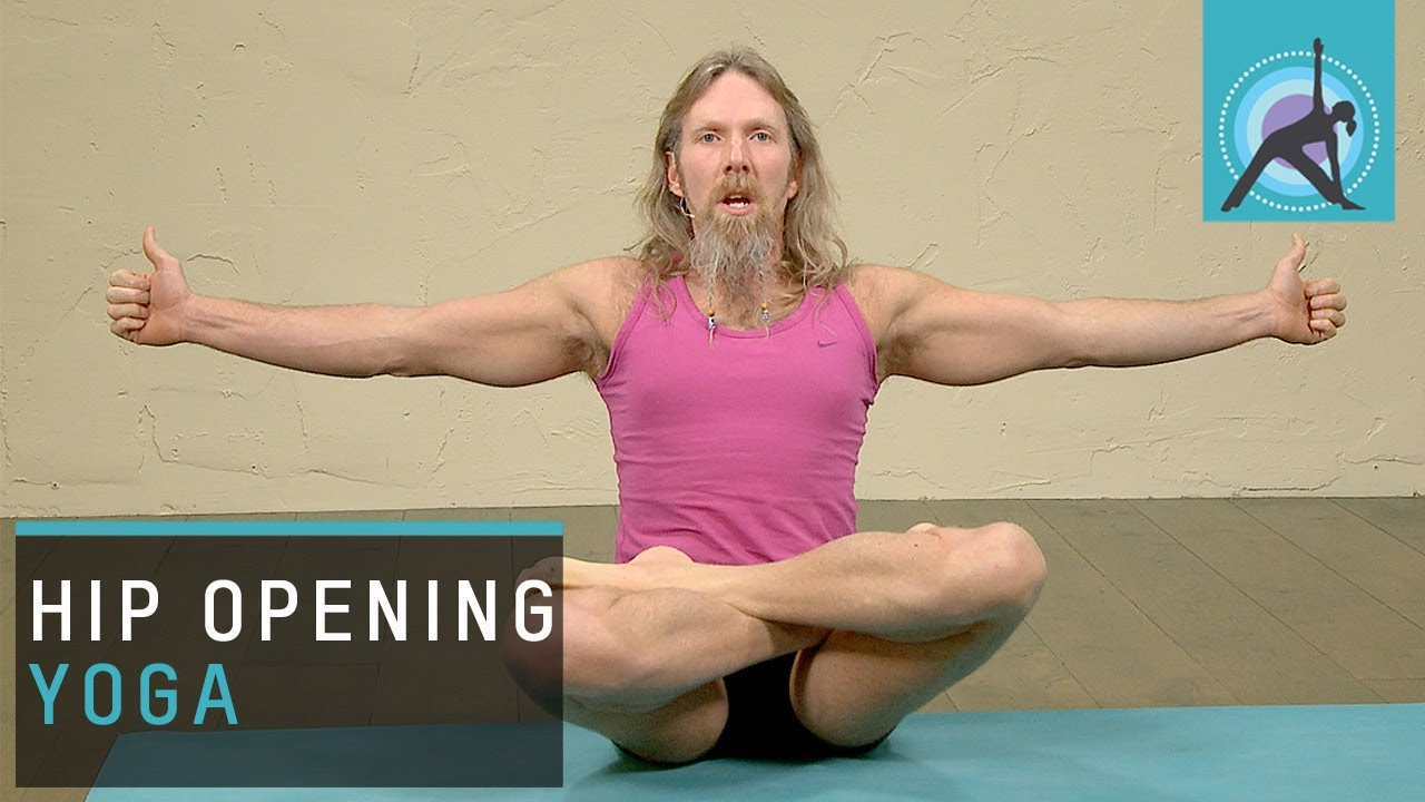 Hip opening Yoga, Flying Eagle Pose with Andrew Wren - YouTube