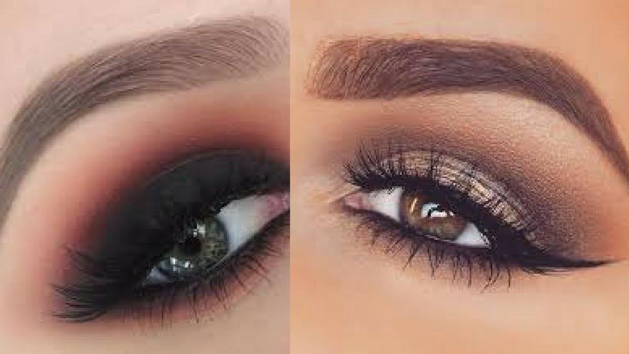Natural & Dramatic Smokey Eyes || Soft Everyday Eye Makeup ...