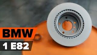 Kā nomainīt Bremžu diski BMW 1 Coupe (E82) - video ceļvedis