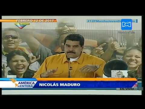 Maduro pide sacar a la cadena CNN de Venezuela