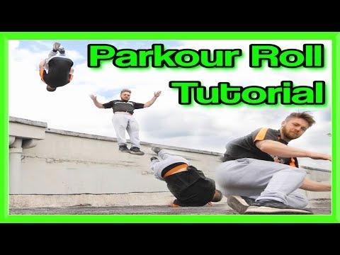 Parkour Safety Roll Tutorial (Martial Art Break Roll) | Fraser Malik