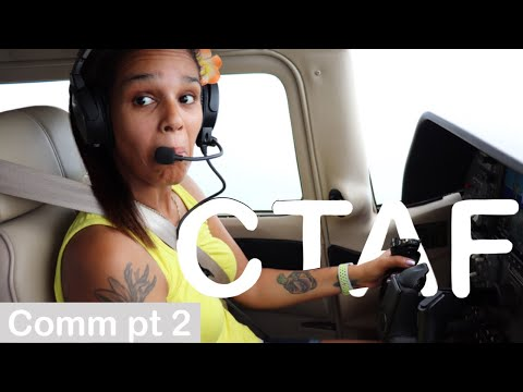 VFR Radio Communications Tutorial Part 2 - Uncontrolled Airport