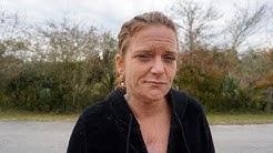 Homeless in Titusville, Florida April Hensley