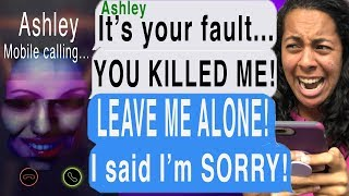 My Dead Best Friend BLAMES ME FOR HER DEATH! *SHE CALLED ME* (Let Me In Cliffhanger | Texting Story)