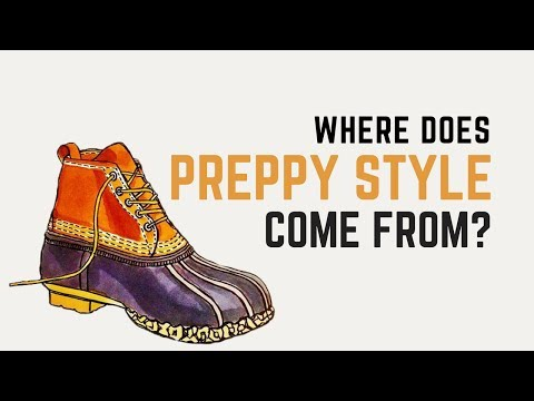 Where Does Preppy Style Come From?