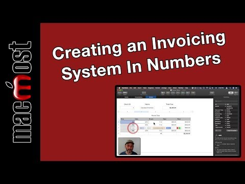 Creating a Billing and Invoicing System In Numbers (MacMost #1897)