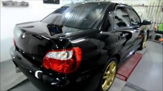 Короткий финальчик по Subaru STI