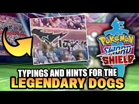 Pokemon Sword and Pokemon Shield LEGENDARY WOLF POKEMON IS ELECTRIC & GHOST Theory!