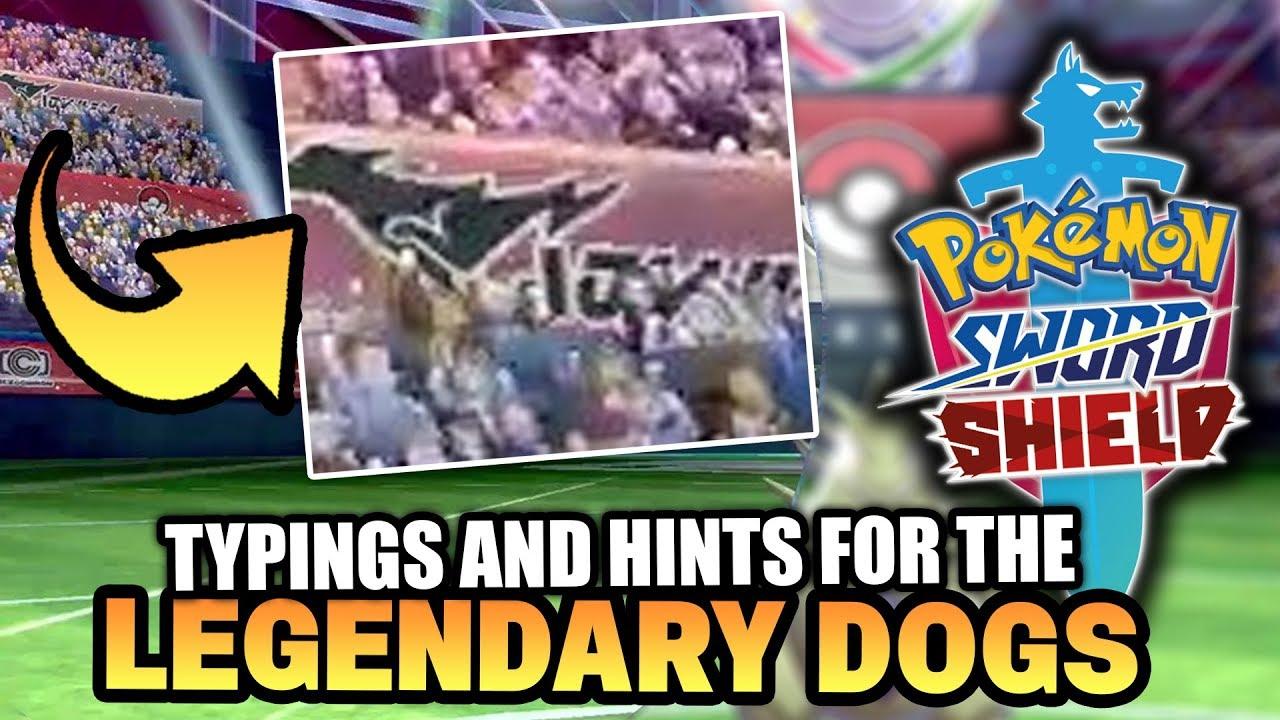 Pokemon Sword And Shield Legendary Wolves