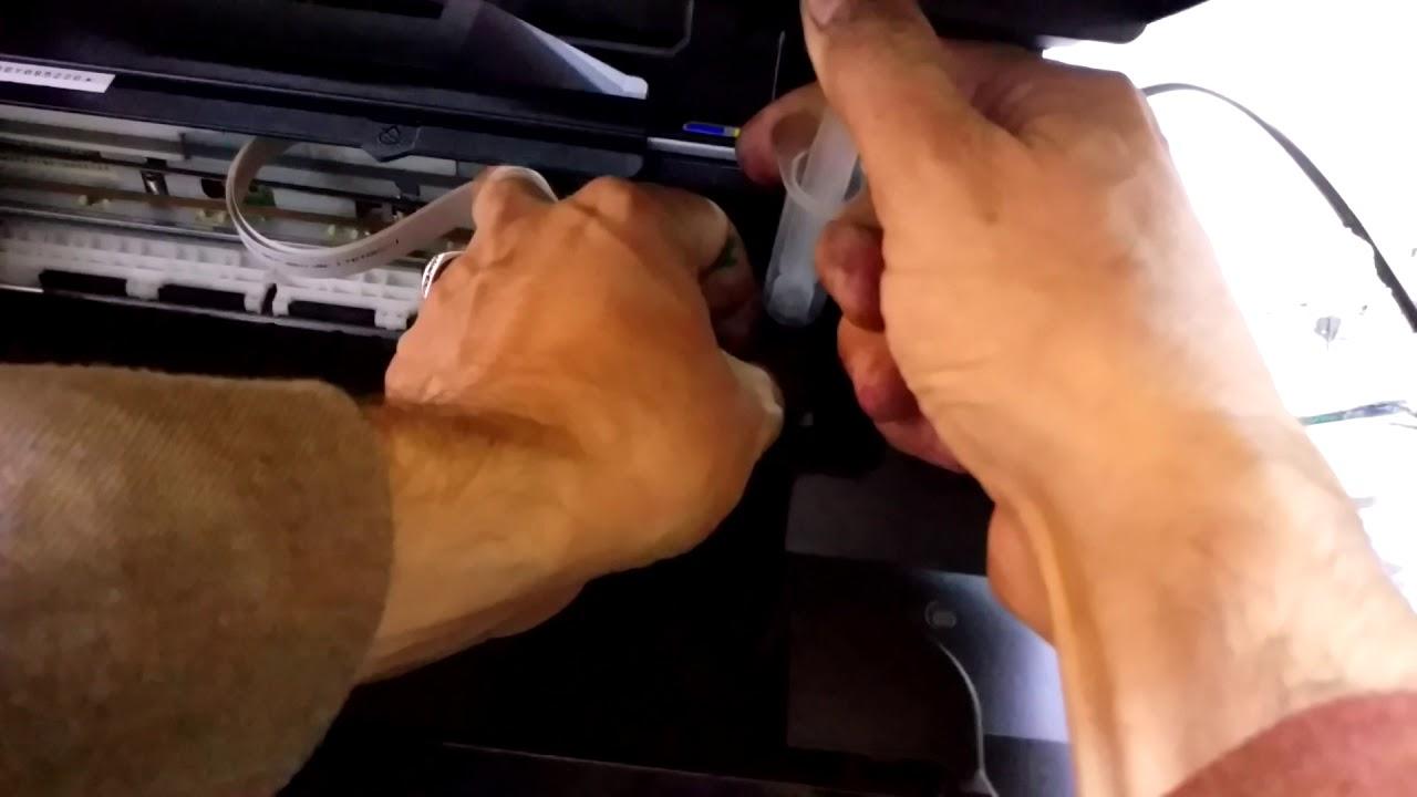 Clear man yazıcı kafa temizleme solusyonu - YouTube