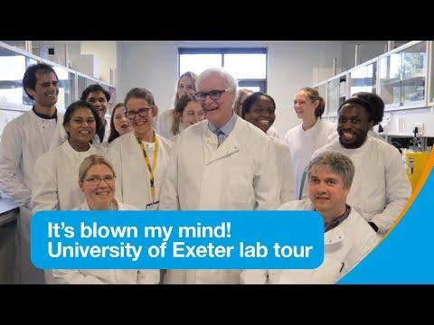 University of Exeter diabetes research lab tour | Research | Diabetes UK