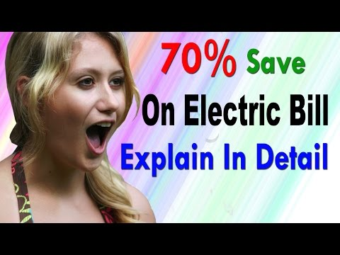 How To Save Electric Bill Up to 70% | Using DC Power | Full