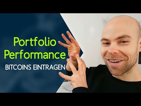 Bitcoins in Portfolio Performance eintragen